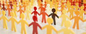 Выбор нужных людей в контактах социальных сетей