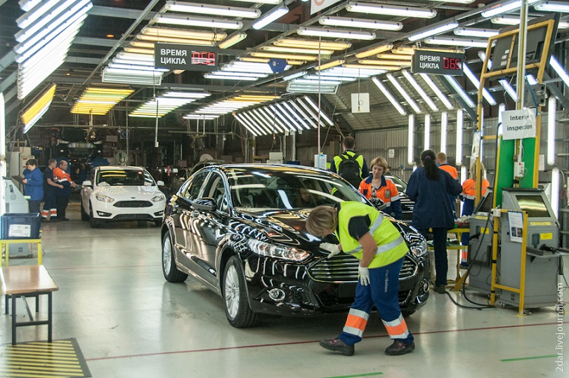Работа в Форд Ford карьера трудоустройство Татарстан Свеволожск