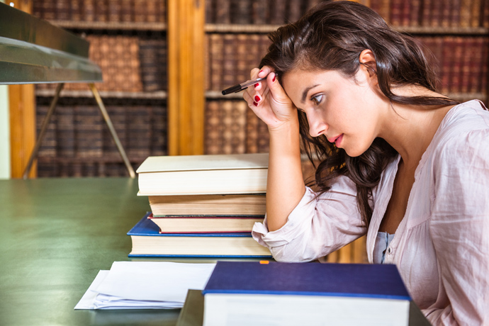 волнение перед экзаменом, тревога перед экзаменами
