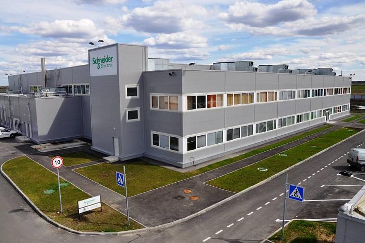 Schneider Electric в России и СНГ завод в Санкт-Петербурге