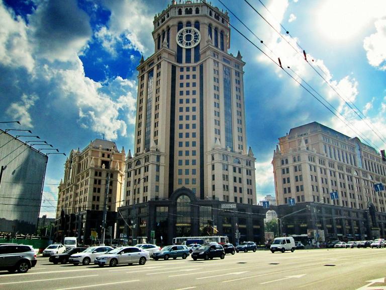 Accenture Москва офис на Павелецкой