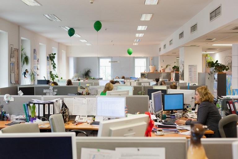 Работа в офисах Русал