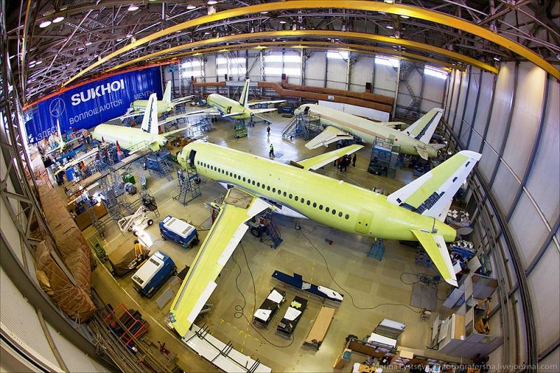Объединённая авиастроительная корпорация завод