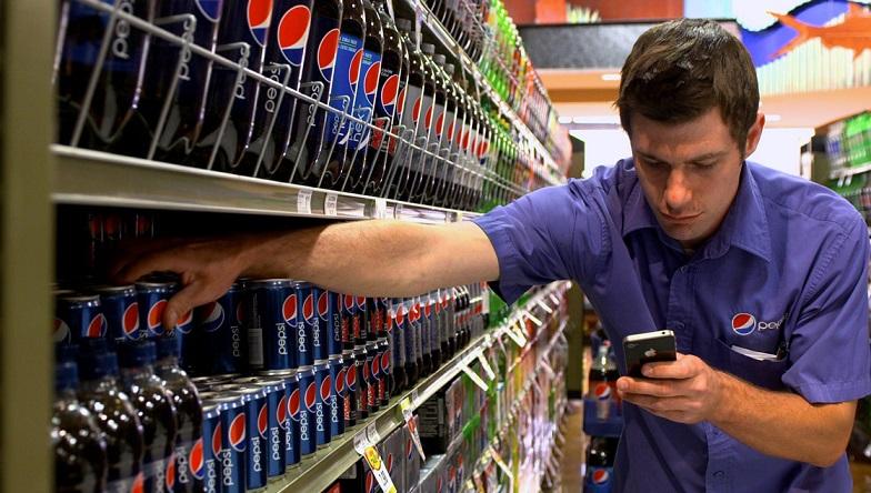 PepsiCo работа торгового представителя
