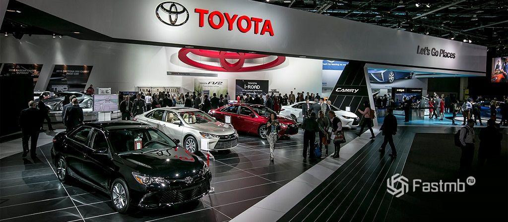 Toyota автомобили