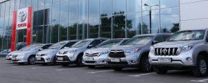 Toyota машины модельный ряд