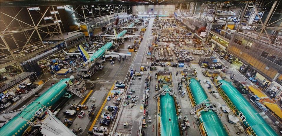 Боинг производство самолетов